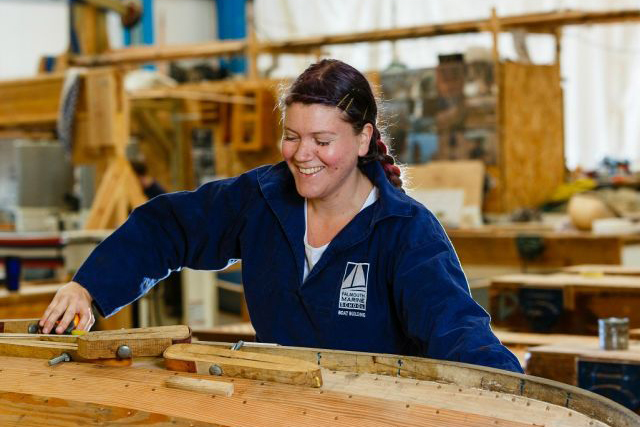 100 Years of Boatbuilding Training Reached in Falmouth