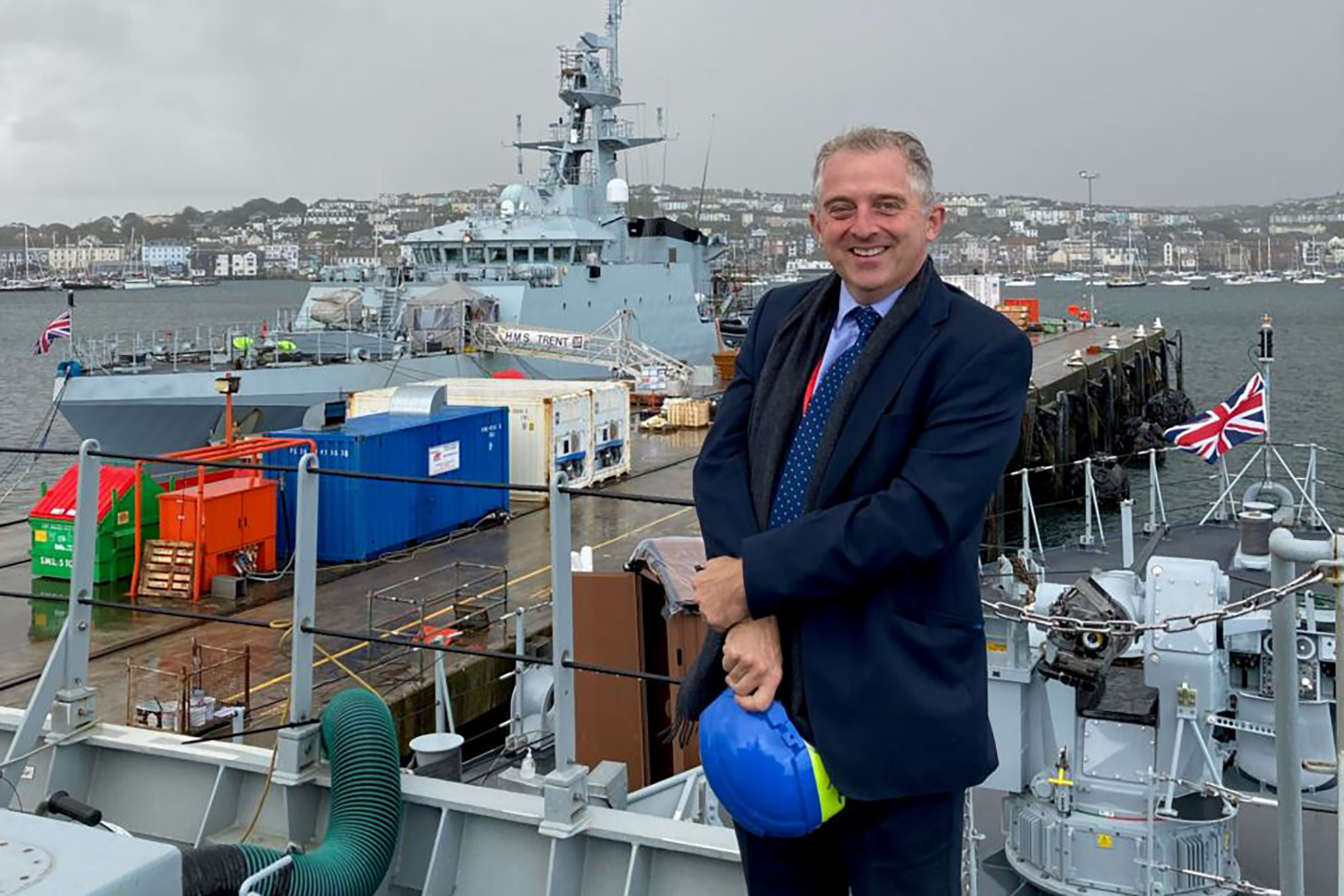 New Falmouth Harbour Commissioners CEO: Fresh From Spaceport…