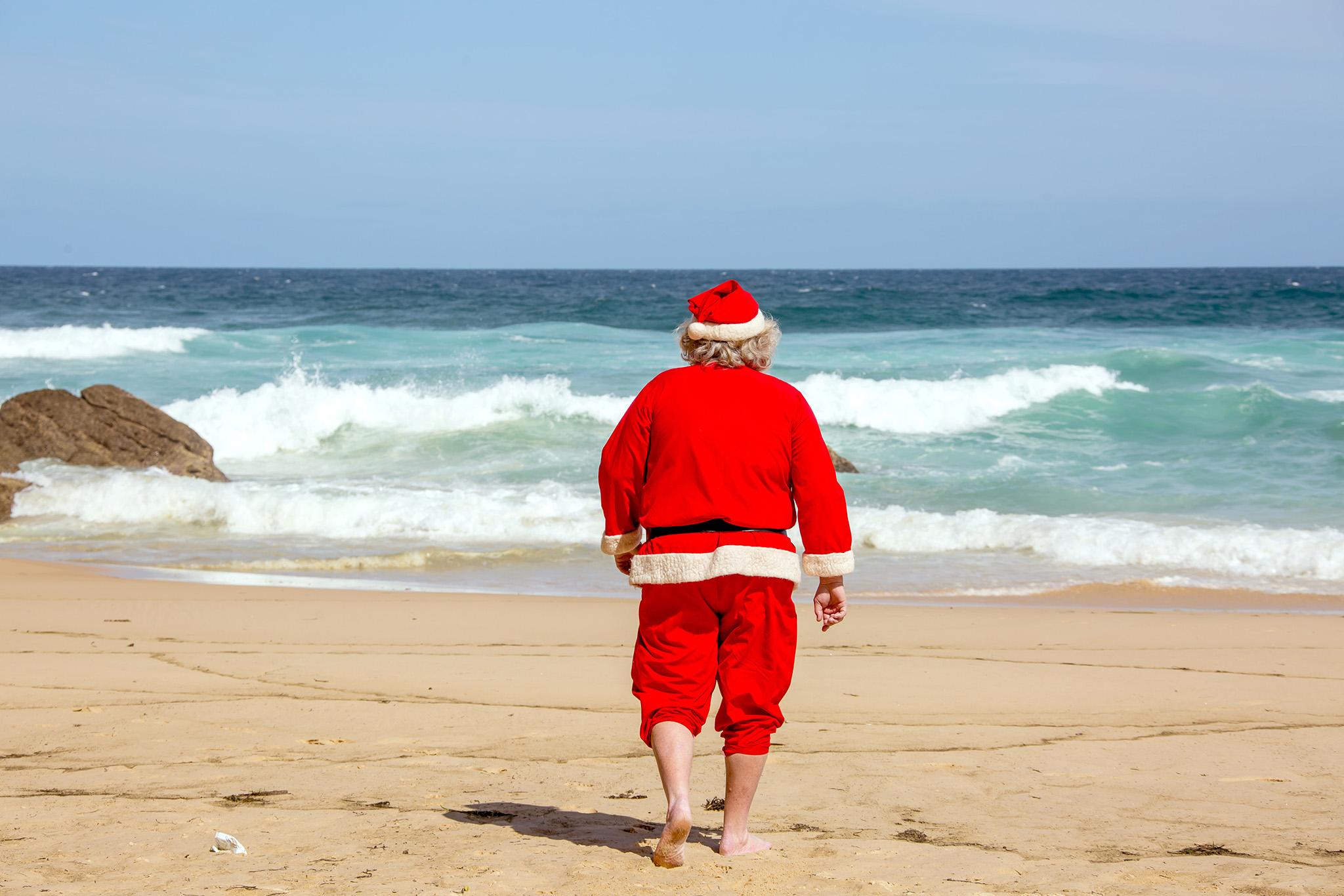 Santa's Shredding It Up..!